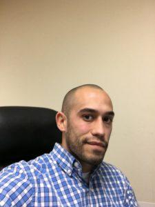 Melendez head shaved
