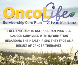 Cancer survivorship plans help survivors!