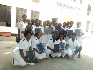 The first graduating class from the OncoLink Cancer Nurse Education Program