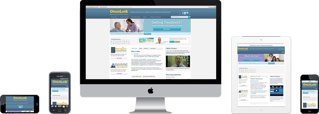 OncoLink Responsive Design